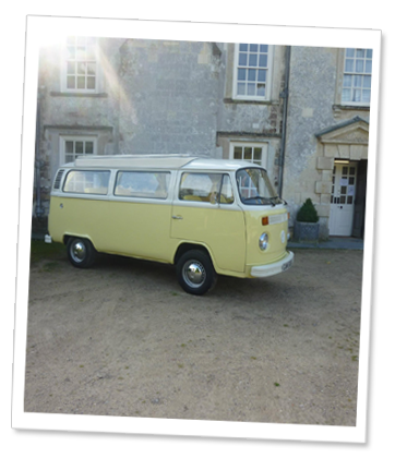 Campervan Wedding Hire Devon