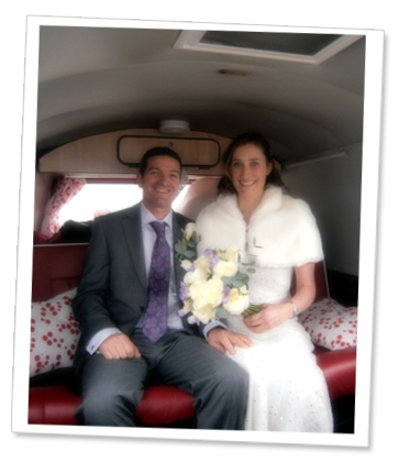 Campervan Wedding Hire Exeter